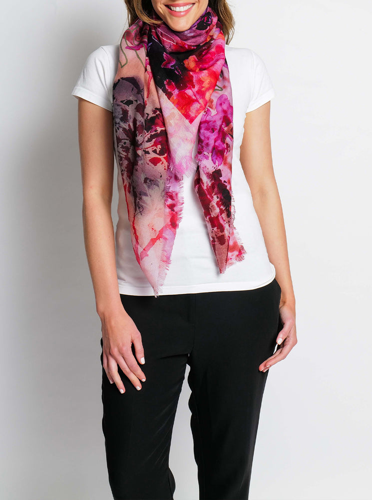 Yesterday Today Tomorrow Merino Wool Scarf