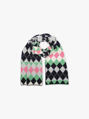 Load image into Gallery viewer, Harlequin Blanket Scarf