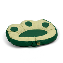 Load image into Gallery viewer, The Paw Dog Bed - Green Leather