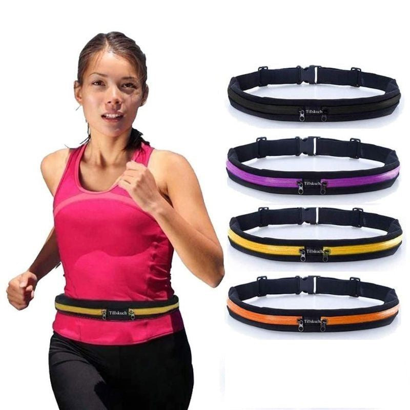 Buy online High Quality Vital  Pocket Belt with 2 Expandable Pockets {2 Pack} - Vital Fitness Gear