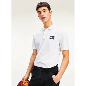 Polo manches courtes Tommy Jeans blanc