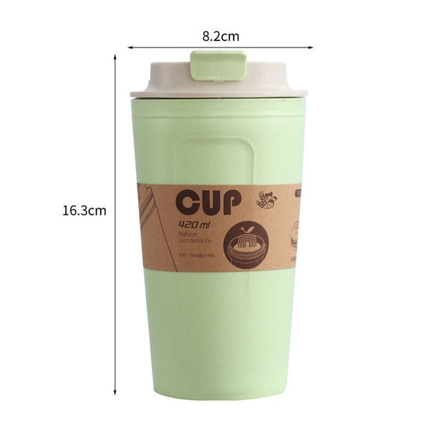 Bamboo Travel Mug Silicone Sleeve Cup - CoffeeXpressions.com