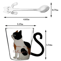 Glass Mug with Handle - CoffeeXpressions.com
