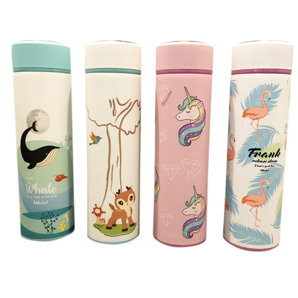 Fashion Unicorn or Animals Thermos For Kids