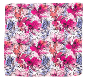 All4 Ella Bamboo Cotton Wrap- Floral