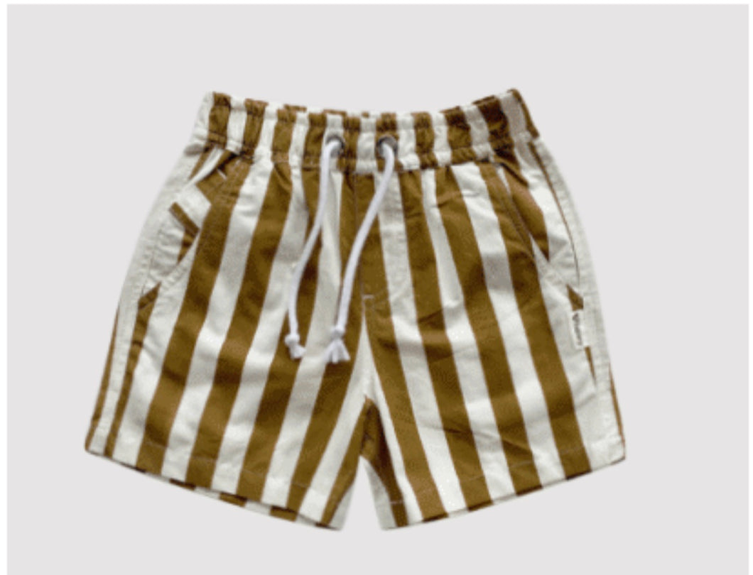 Love Henry Sonny Short - Bronze Stripe