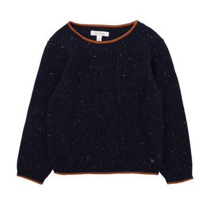 Bebe Boys Cable Jumper - Navy