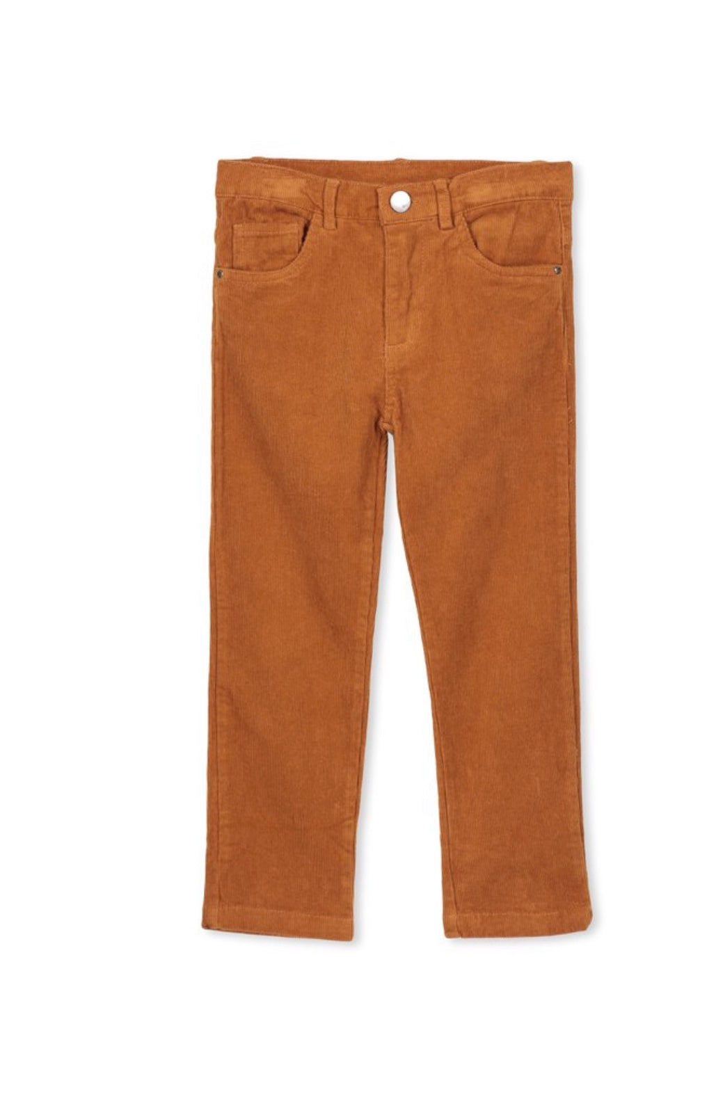 Milky Toffee Cord Jean