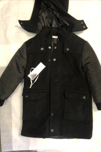 Mr & Miss Overcoat - Black