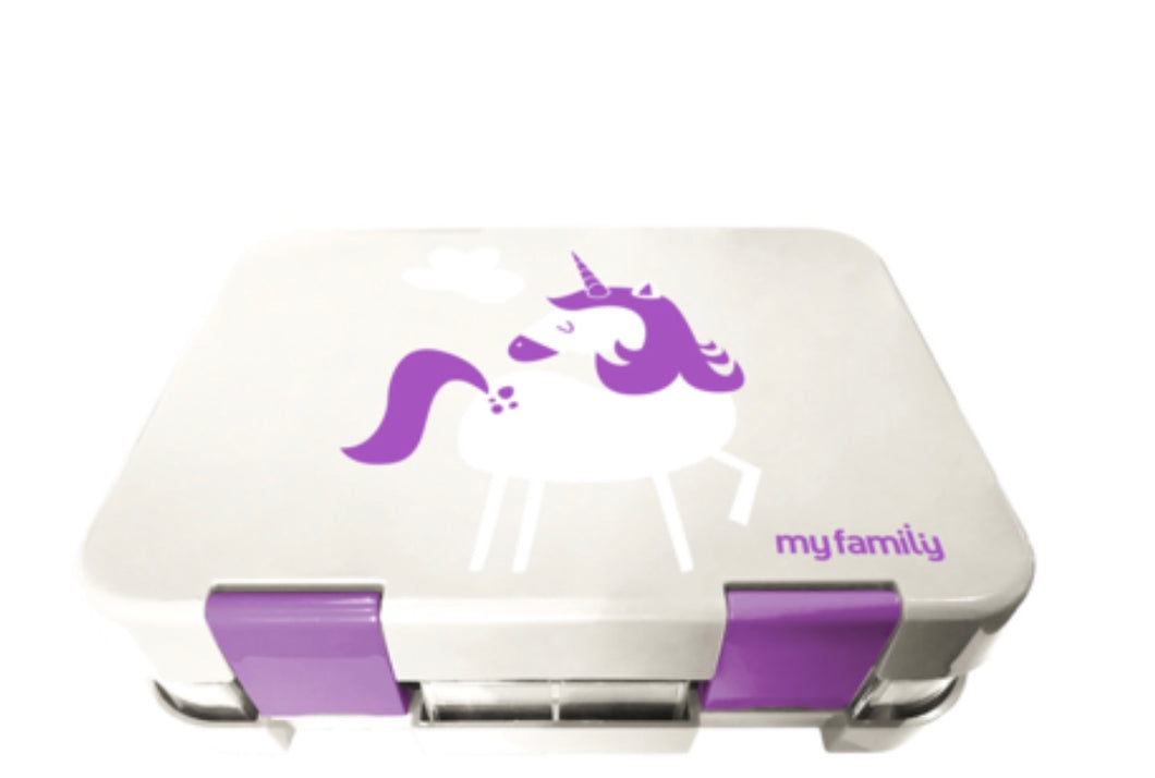 My Family Bento Box - Unicorn