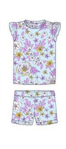Milky Girls Floral Pyjamas