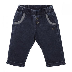 Bebe Boys French Terry Pants - Navy