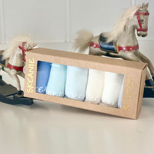 Skeanie Baby Socks - Neutral 6 Pack