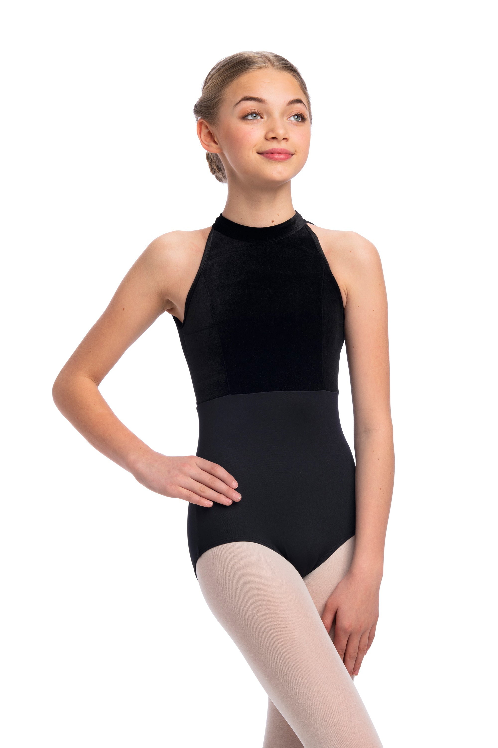 Vera Leotard with Velvet- Girls