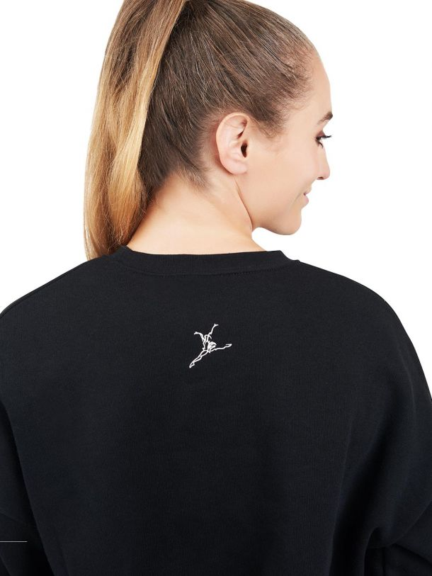 Capezio Crop Sweat Shirt