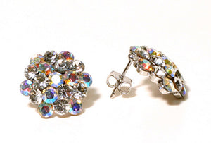 Open image in slideshow, AB Cluster Earrings
