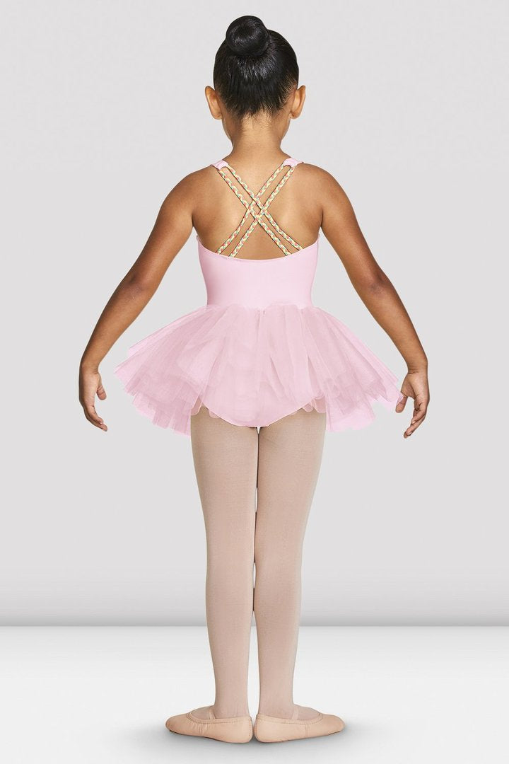 Gelato Braid Strap Back Tutu Leotard CL7835