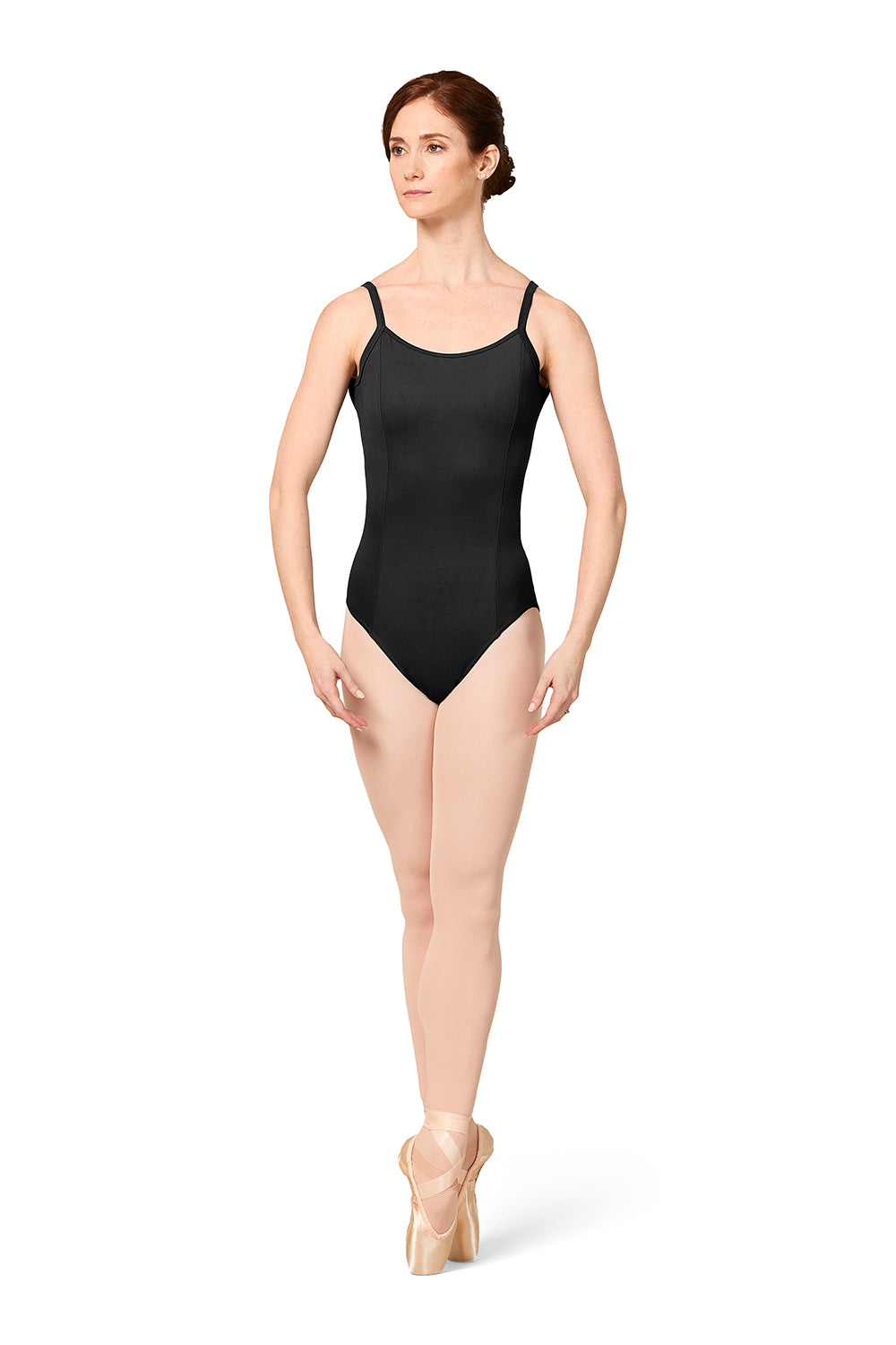 Mirella Princess Seam Camisole Leotard
