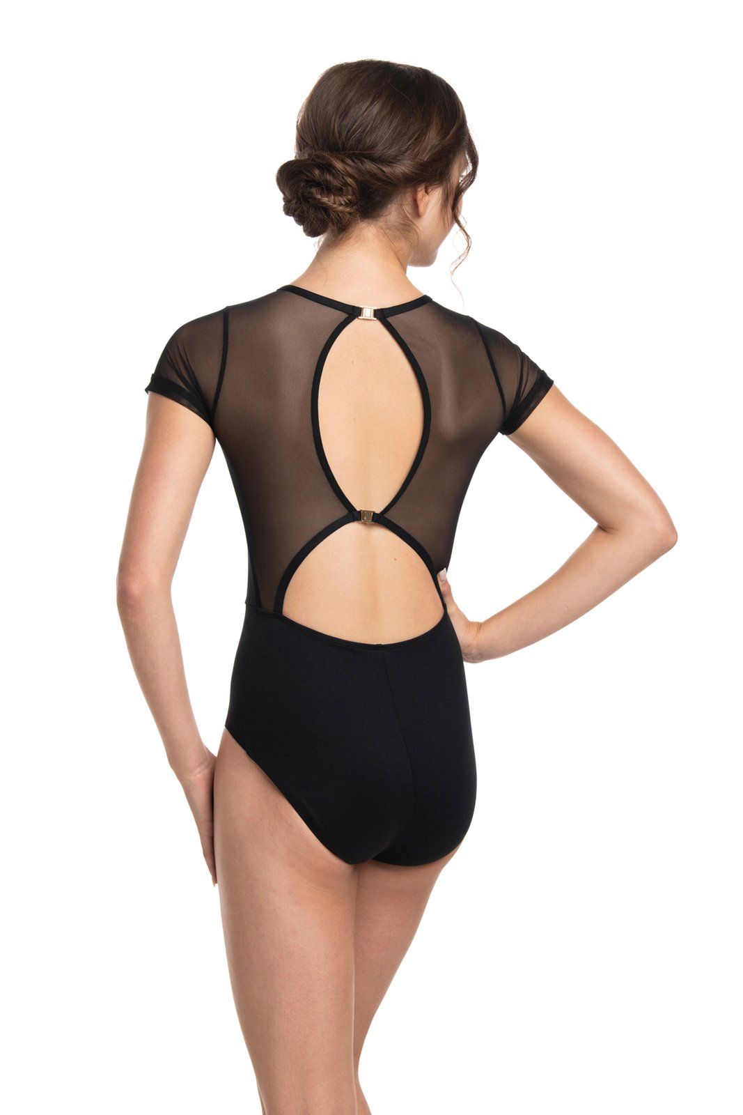 Renne Leotard with Mesh