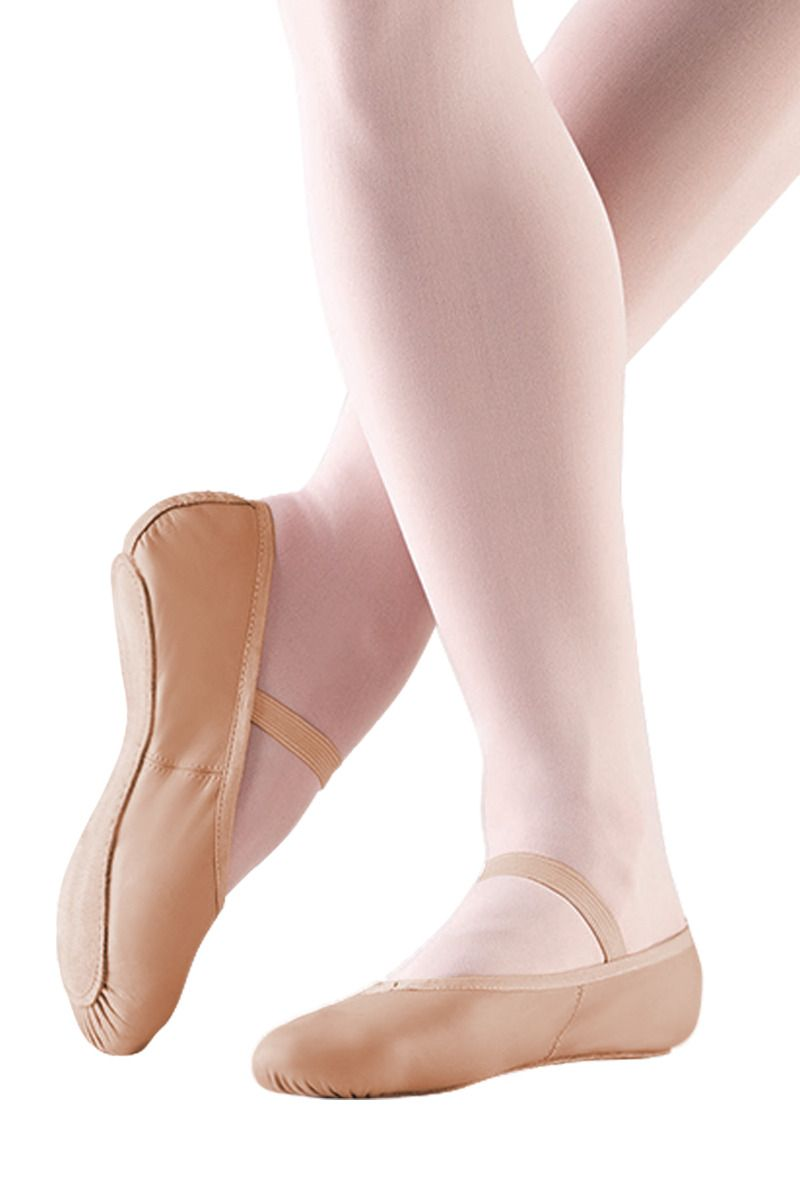 Full Sole Leather Ballet Shoe