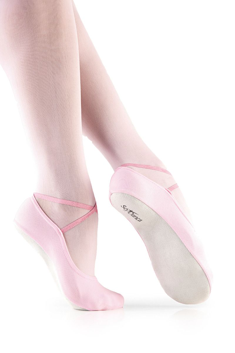 Full Suede Sole Soft Dance Slipper BA40