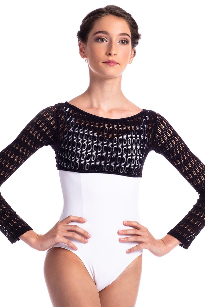 Macramé Long Sleeve Shrug