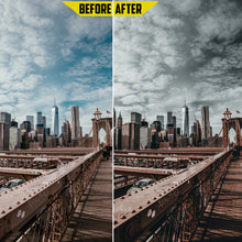 Load image into Gallery viewer, Dark Preset Pack - 4 Lightroom Mobile Presets 50% off