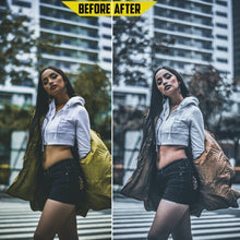 Load image into Gallery viewer, Urban Preset Pack - 4 Lightroom Mobile Presets 50% off