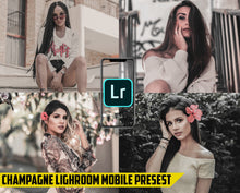 Load image into Gallery viewer, Champagne Effect - Lightroom Mobile Preset - Dollar Presets - Lightroom Mobile Presets
