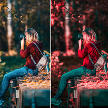Load image into Gallery viewer, The Red Effect - Lightroom Mobile Preset - Dollar Presets - Lightroom Mobile Presets