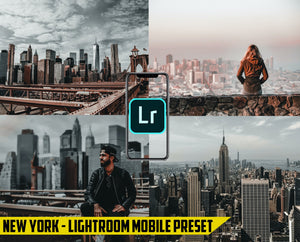 New York - Lightroom Mobile Preset - Dollar Presets - Lightroom Mobile Presets
