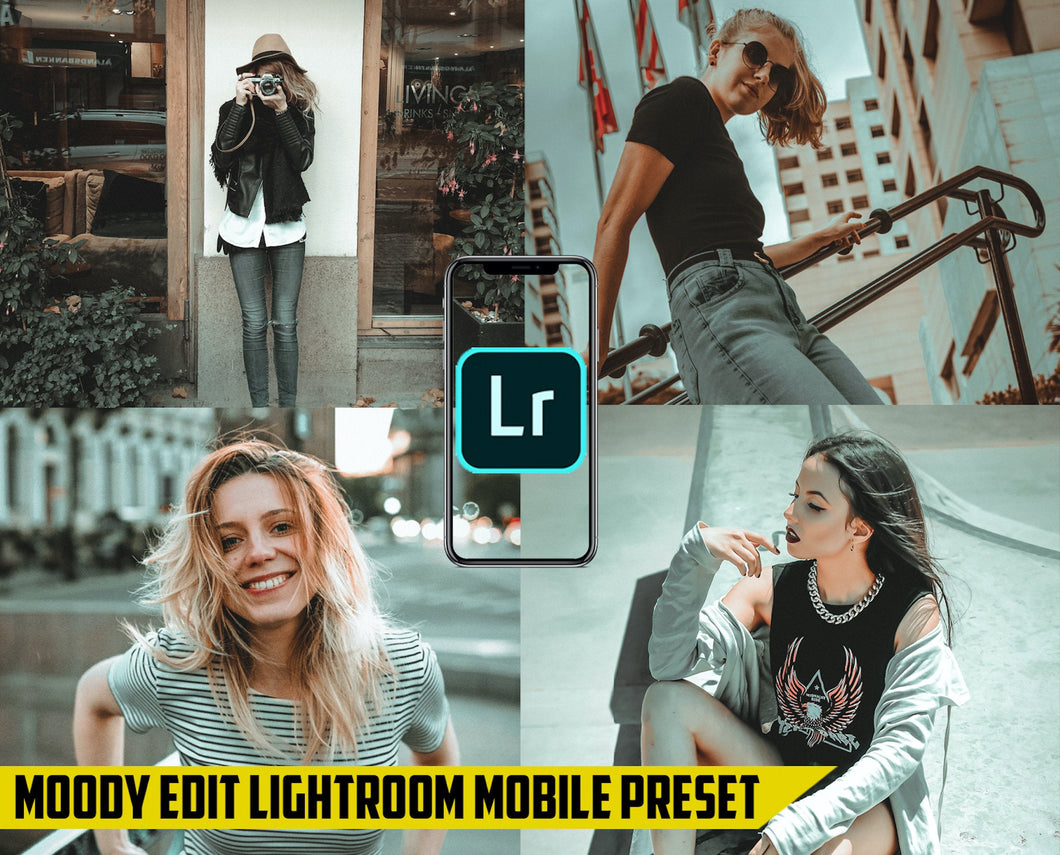 Moody Edit - Lightroom Mobile Preset - Dollar Presets - Lightroom Mobile Presets
