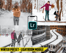 Load image into Gallery viewer, Winter - Lightroom Mobile Preset - Dollar Presets - Lightroom Mobile Presets
