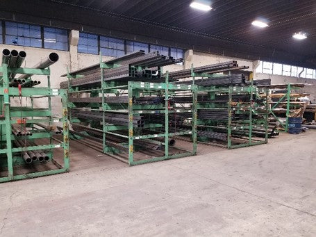 steel inventory metal rack