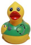 Rubber Ducks Doctor N Nurse Set of 2, Waddlers brand rubber ducks that squeak...