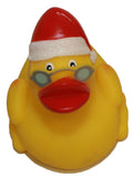 Rubber Duck Santa, Waddlers Brand Rubber Ducks That Float Upright N Race, Seasonal Rubber Ducky Christmas Party Favors Gift, All Depts. Gift Christmas