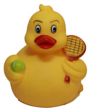 Rubber Ducks Tennis, Waddlers Brand Rubber Duckies That Races Upright, Sports...