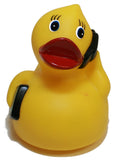 Rubber Ducks Family on the Go Telephone Duck, Waddlers Brand Toy Bathtub Rubb...