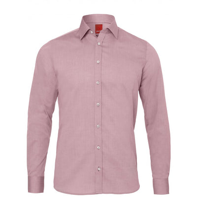 3330-720 305 PURE Hemd City Red Langarm - pureshirt
