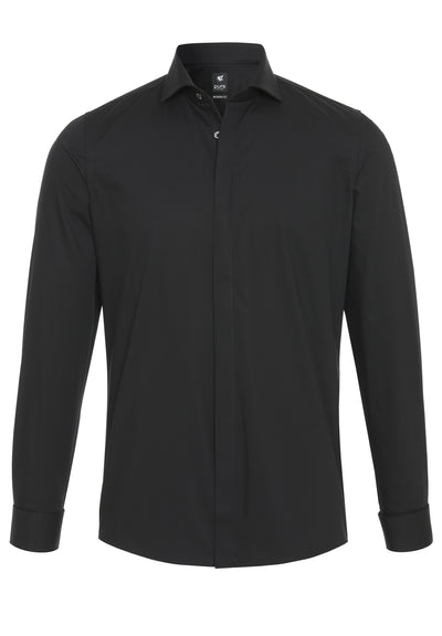 3382-400 - City Hemd Black - schwarz - pureshirt