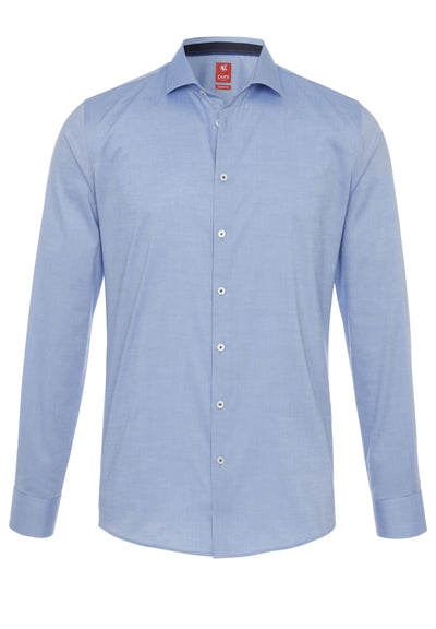 3388-732 - City Hemd Red - blau - pureshirt