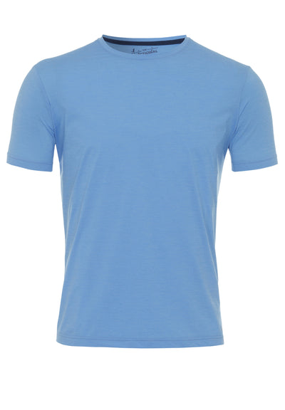 3392-92940 - Functional T-Shirt slim fit - blau - pureshirt