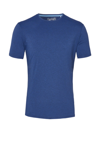 3393-92940 - Functional T-Shirt slim fit - blau - pureshirt