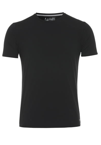 3394-92940 - Functional T-Shirt slim fit - schwarz - pureshirt