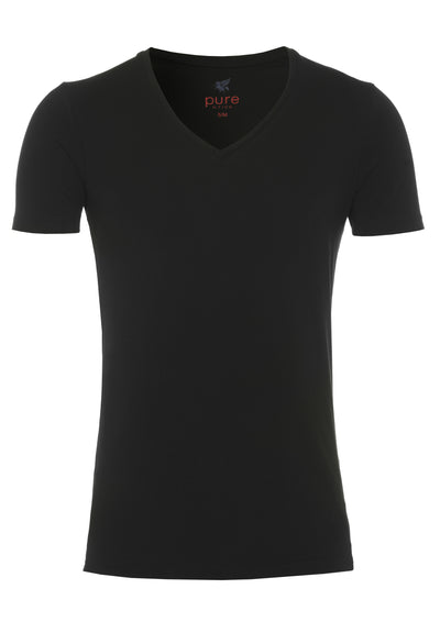 3398-92998 001 Pure V-Neck T-Shirt Doppelpack - pureshirt