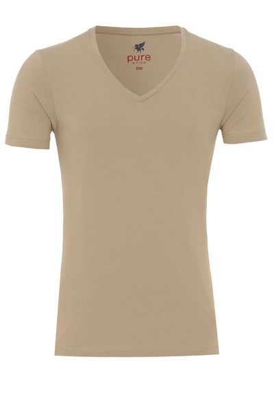 3398-92998 200 Pure V-Neck T-Shirt Doppelpack - pureshirt