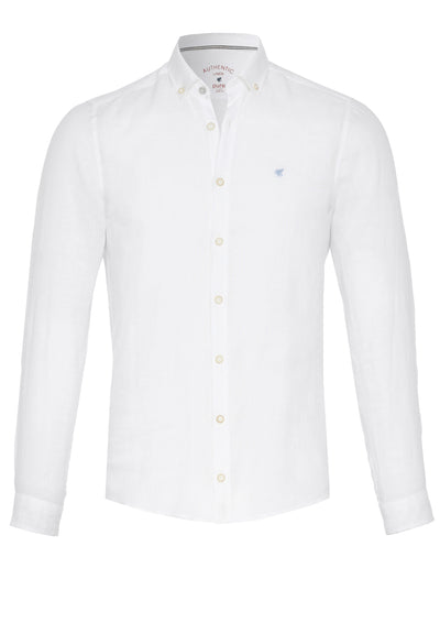 3801-550 - Casual Hemd Slim Fit - weiß - pureshirt