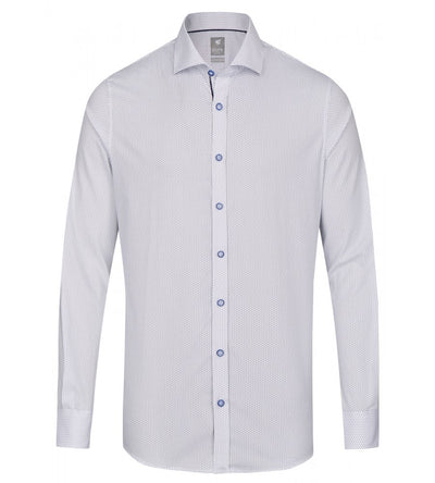 4009-700 173 PURE- City Hemd Silver Langarm - pureshirt