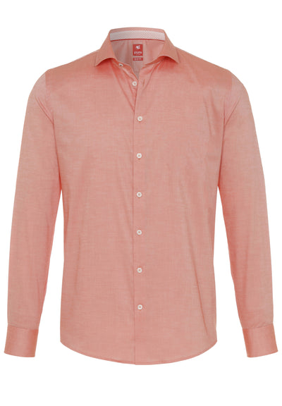 4025-726 PURE- City Hemd Red Langarm - pureshirt