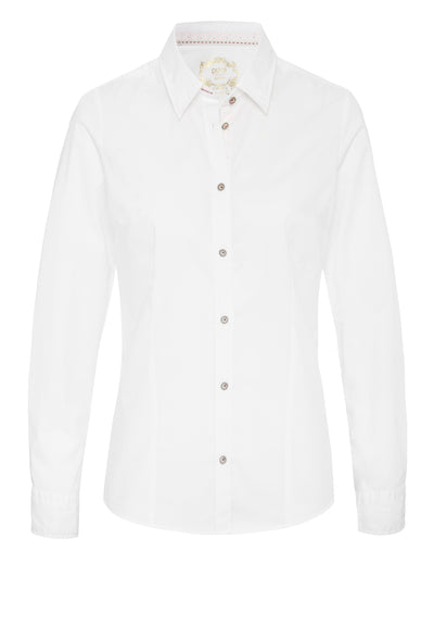 C72652-91127 900 PURE Bluse Tracht SLIM FIT  Langarm - pureshirt